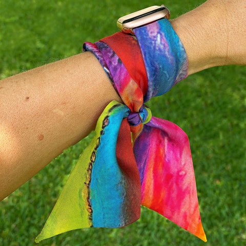 Wrist Scarf - Twilly - AlanaKay Art