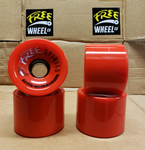 FREE SPIRITS Longboard Wheels (RED)