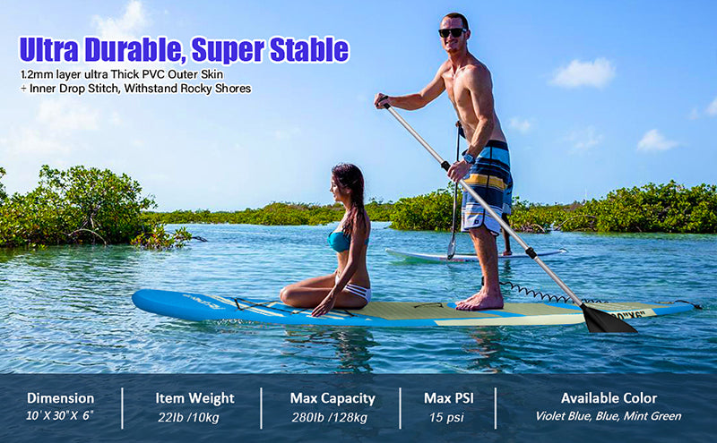 Details of FBsport Inflatable Stand Up Paddleboard (SUP)