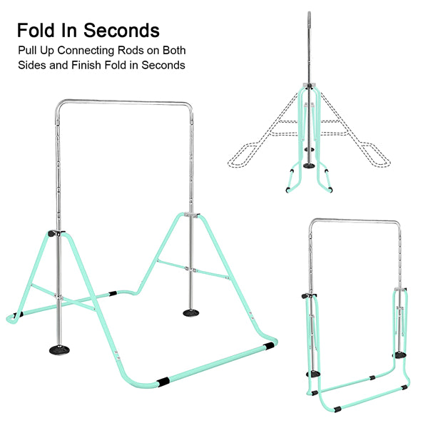 Foldable Gymnastics Bar for Children