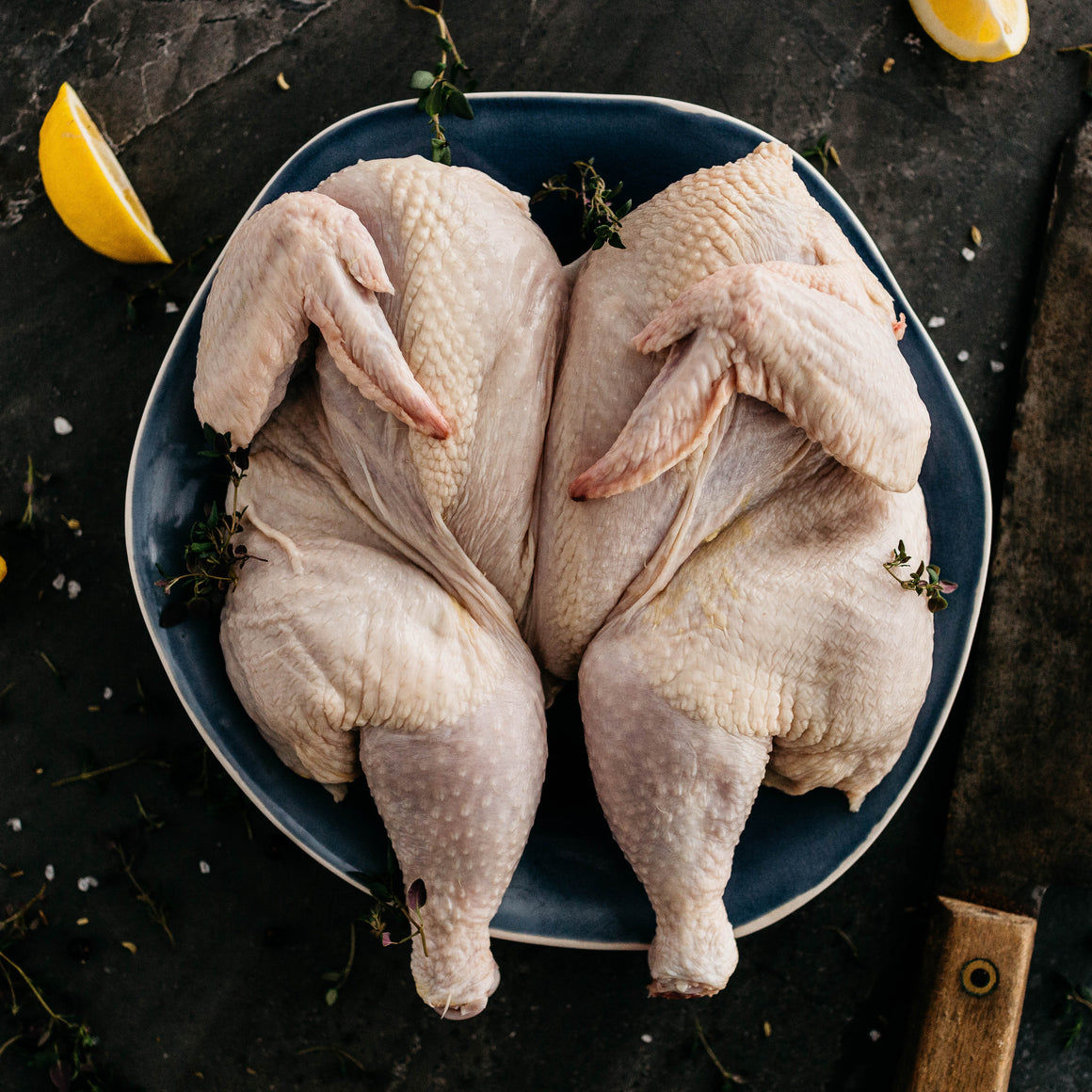 organic butterflied chicken