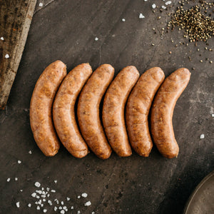 Lamb and Rosemary Sausages
