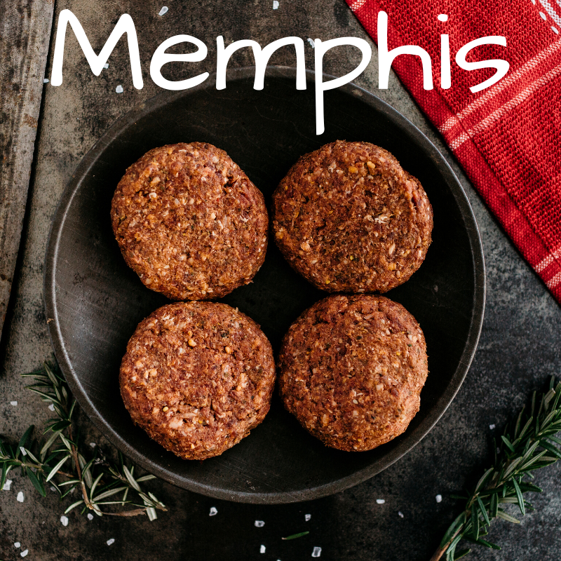 Memphis GF Burger Patties