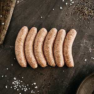 Pure Free Range Pork Sausages