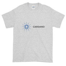 Load image into Gallery viewer, Ash Short Sleeve T-Shirt With Grey and Blue Cardano Logo