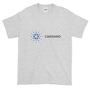 Ash Short Sleeve T-Shirt With Grey and Blue Cardano Logo