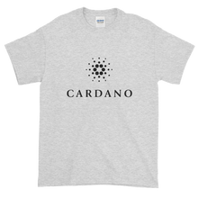 Load image into Gallery viewer, Ash Short Sleeve T-Shirt With Black Cardano Logo