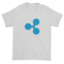 Load image into Gallery viewer, Ash Short Sleeve T-Shirt With Blue Ripple Logo