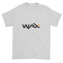 Load image into Gallery viewer, Ash Short Sleeve T-Shirt With Grey and Orange WAX Logo