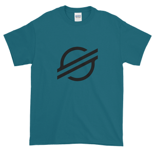 Galapagos Blue Short Sleeve Stellar T Shirt With Black Stellar S Logo