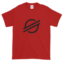 Load image into Gallery viewer, Red Short Sleeve Stellar T Shirt With Black Stellar S Logo