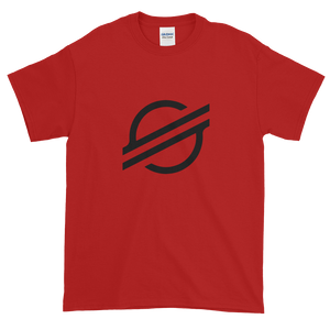Red Short Sleeve Stellar T Shirt With Black Stellar S Logo