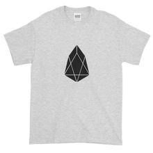 Load image into Gallery viewer, Ash Short Sleeve T-Shirt With Black EOS Logo