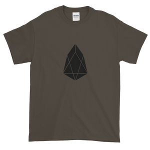 Olive Short Sleeve T-Shirt With Black EOS Logo