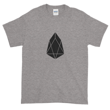 Load image into Gallery viewer, Grey Short Sleeve T-Shirt With Black EOS Logo