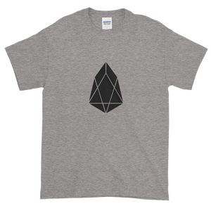 Grey Short Sleeve T-Shirt With Black EOS Logo