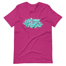 Load image into Gallery viewer, Berry Short Sleeve T-Shirt With Krypto Threadz Graffiti Design