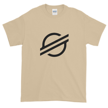 Load image into Gallery viewer, Sand Short Sleeve Stellar TShirt With Black Stellar S Logo