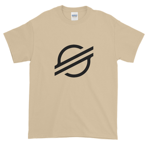 Sand Short Sleeve Stellar TShirt With Black Stellar S Logo