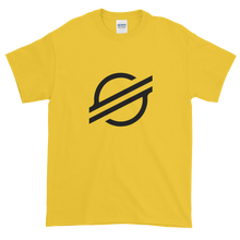 Load image into Gallery viewer, Yellow Short Sleeve Stellar T Shirt With Black Stellar S Logo