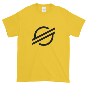 Yellow Short Sleeve Stellar T Shirt With Black Stellar S Logo