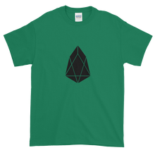 Load image into Gallery viewer, Green Short Sleeve T-Shirt With Black EOS Logo