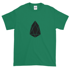Green Short Sleeve T-Shirt With Black EOS Logo