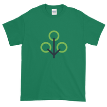 Load image into Gallery viewer, Green Short Sleeve T-Shirt With Green and Grey Zcash Sapling Logo