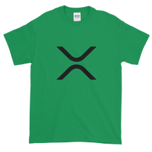 Load image into Gallery viewer, Green Short Sleeve XRP T Shirt With Black XRP Logo