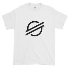 Load image into Gallery viewer, White Short Sleeve Stellar TShirt With Black Stellar S Logo