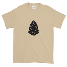Load image into Gallery viewer, Sand Short Sleeve T-Shirt With Black EOS Logo