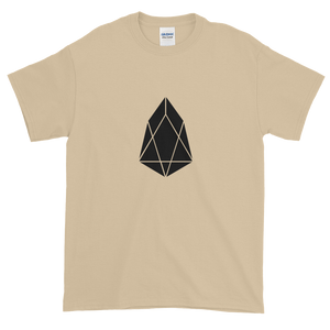 Sand Short Sleeve T-Shirt With Black EOS Logo