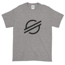 Load image into Gallery viewer, Grey Short Sleeve Stellar TShirt With Black Stellar S Logo