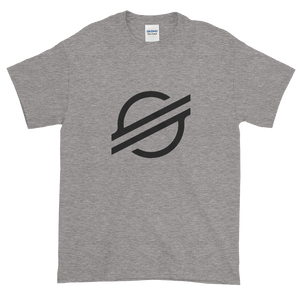 Grey Short Sleeve Stellar TShirt With Black Stellar S Logo