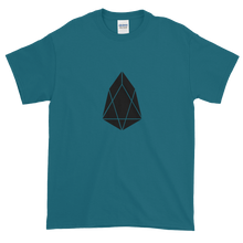Load image into Gallery viewer, Galapagos Blue Short Sleeve T-Shirt With Black EOS Logo