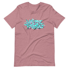 Load image into Gallery viewer, Orchid Short Sleeve T-Shirt With Krypto Threadz Graffiti Design