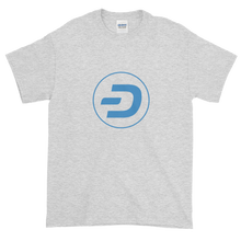 Load image into Gallery viewer, Ash Short Sleeve T-Shirt With Blue Dash Logo