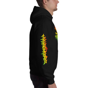 Krypto Threadz Hoodie | Rasta Hand Stylez | Krypto Hoodies