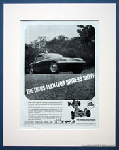 Load image into Gallery viewer, Lotus Elan 2 Adverts 1964/74 Original Adverts (ref AD1656)