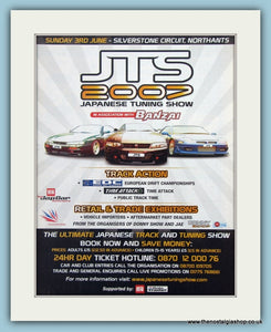 Japanese Tuning Show 2007. Silverstone. Original Advert (ref Ad2017)