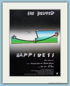 The Beloved-Happiness Original Music Advert 1990 (ref AD3388)