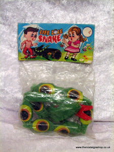 Toy Snake 1960s still sealed. (ref nos060i)