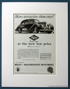 Riley 2.5 Litre Saloon 1953 Original Advert (ref AD1213)
