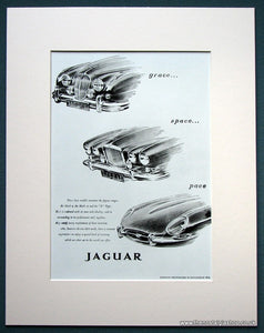 Jaguar 1962 Original Advert (ref AD1100)