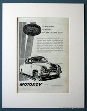 Load image into Gallery viewer, Skoda 1200 Motokov 1954 Set Of 3 Original Adverts (ref AD1237)