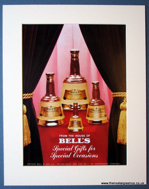 Bell's Scotch Whisky. Set of 3 Original adverts 1976 & 1985 (ref AD1191)