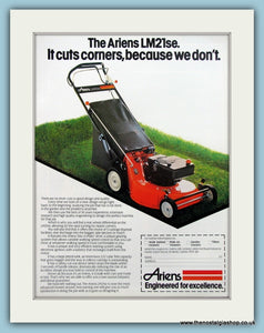 Ariens LM21se Lawnmower Original Advert  1984 (ref AD4604)