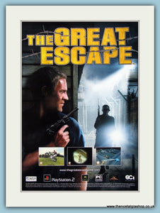 The Great Escape Computer Game Original Advert 2003 (ref AD4011)