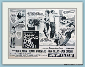 Rally Round The Flag Boy's 1959 Original Film Advert (ref AD3330)
