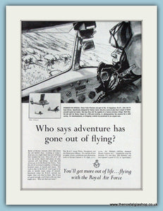 Royal Air Force. Original Advert 1960 (ref AD4254)